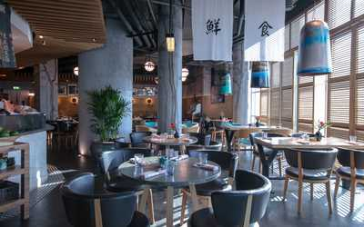 Банкетный зал ресторана Magura (Магура) на Пресненской набережной фото 1