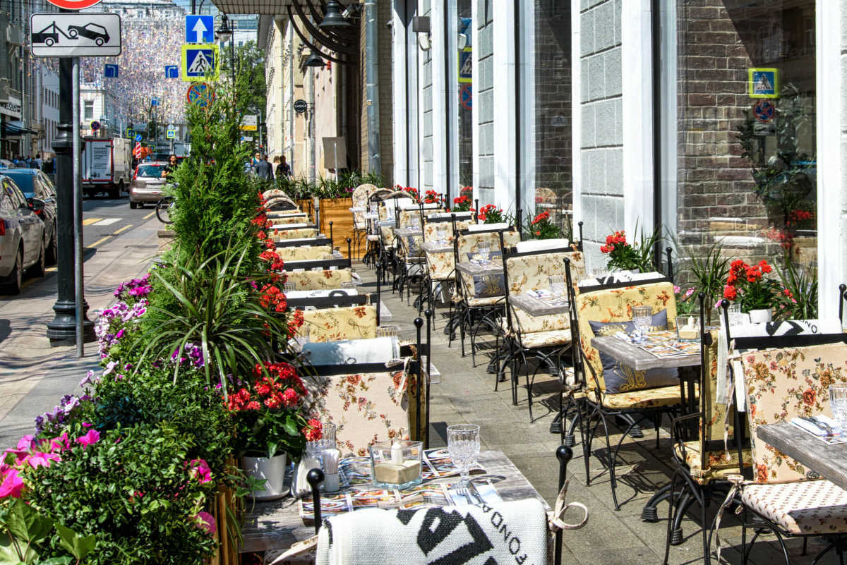 Ресторан Вилла Паста (Villa Pasta) на Большой Дмитровке фото 19