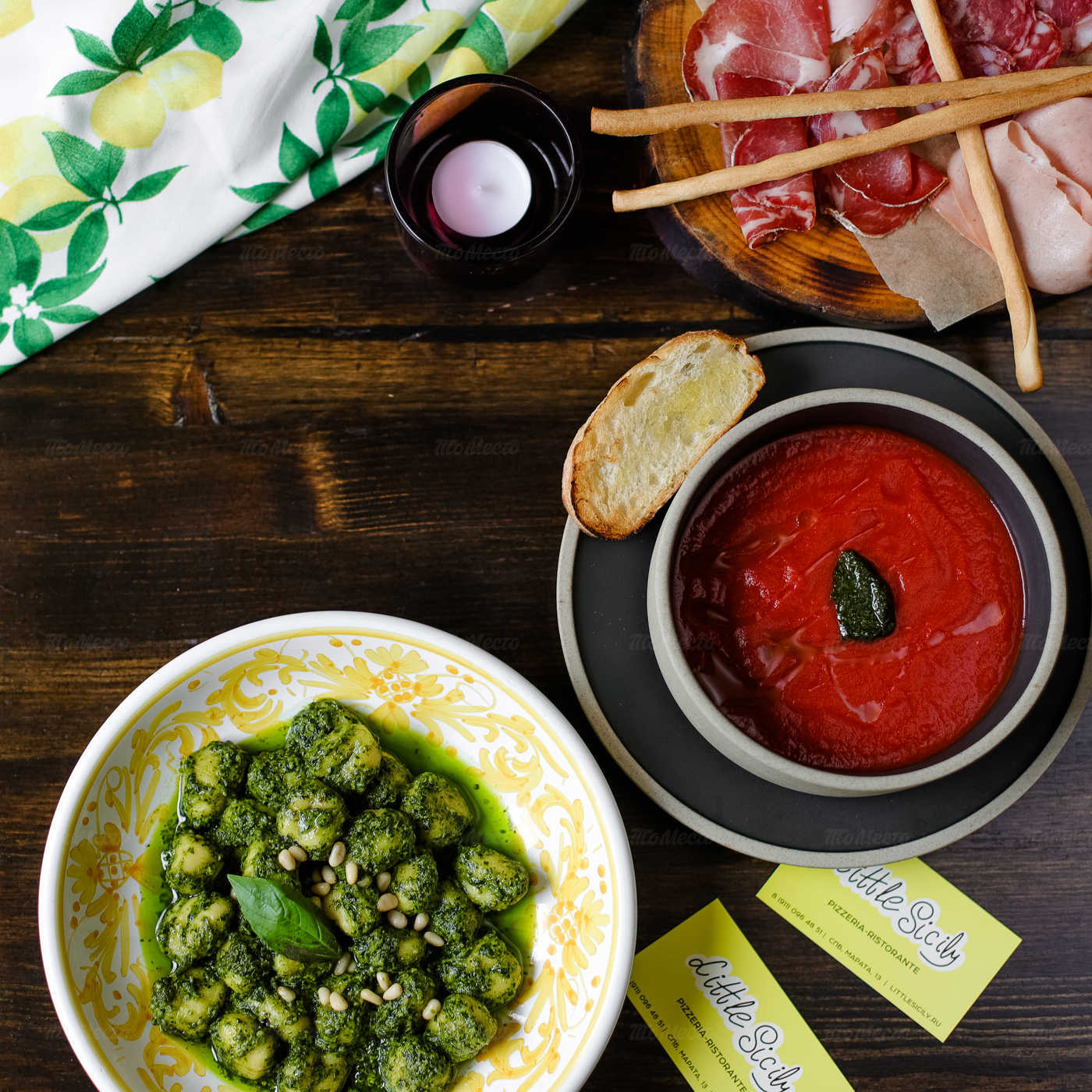 Меню ресторана Little Sicily на Марата фото 21