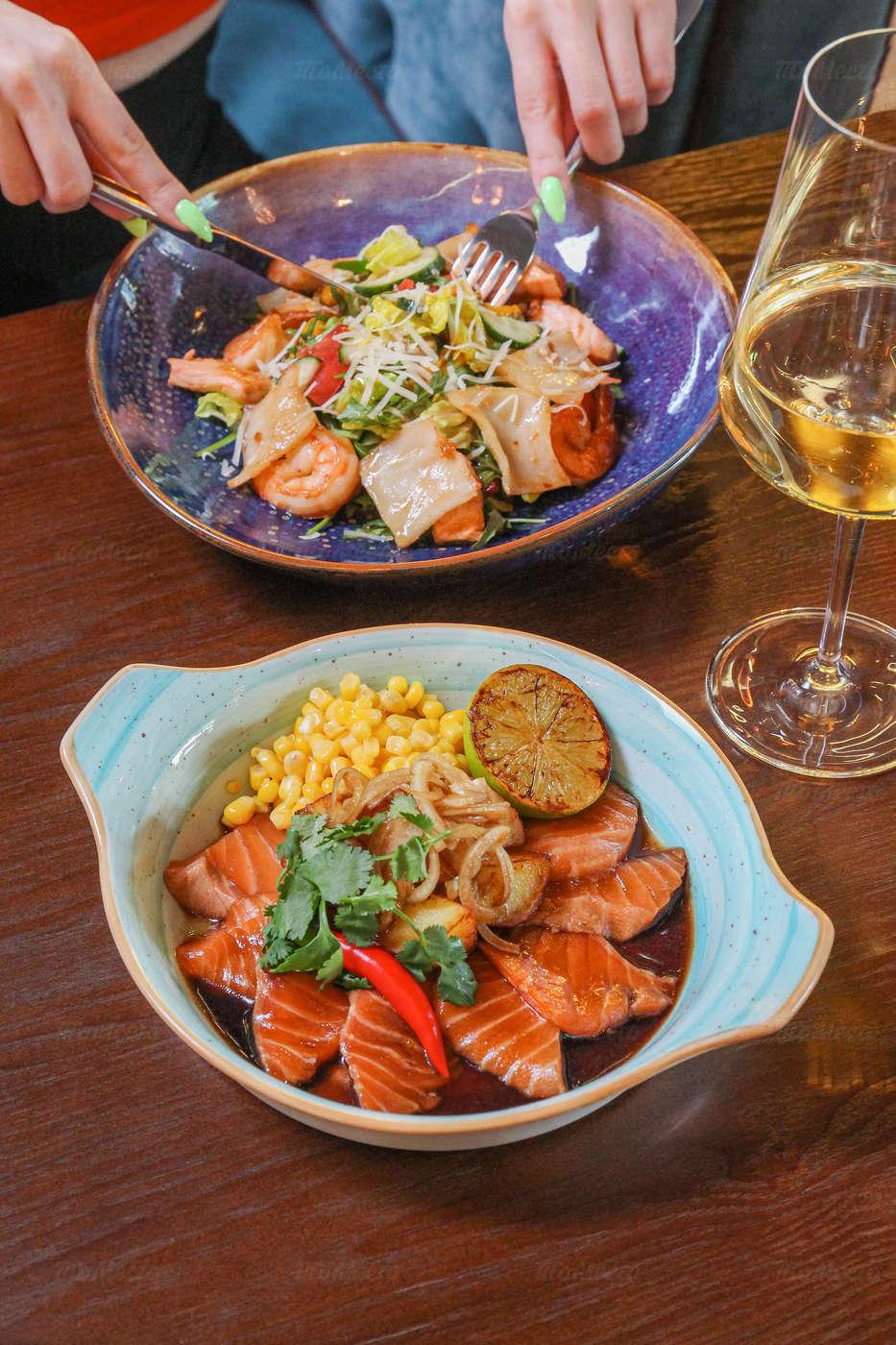 Меню ресторана Blossom на 7-ом км Пятницкого шоссе фото 26