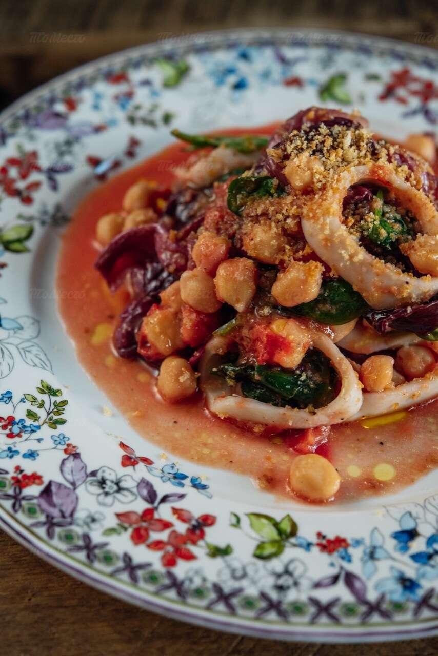 Меню ресторана Scampi Trattoria в Малом Патриаршем переулке фото 5