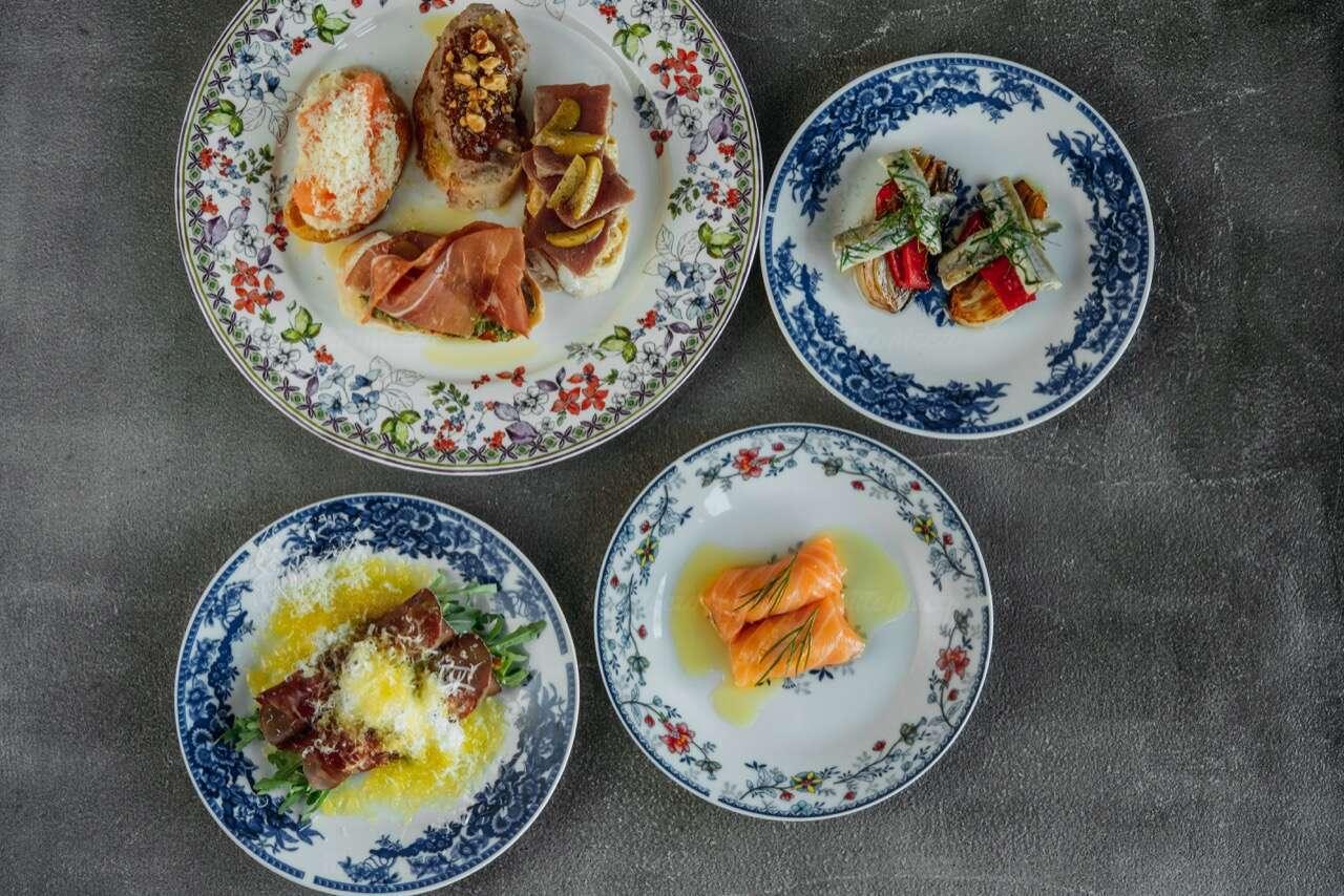 Меню ресторана Scampi Trattoria в Малом Патриаршем переулке фото 11
