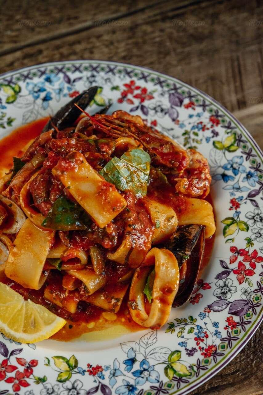 Меню ресторана Scampi Trattoria в Малом Патриаршем переулке фото 4