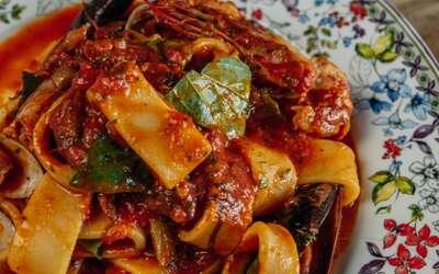 Меню ресторана Scampi Trattoria в Малом Патриаршем переулке фото 3