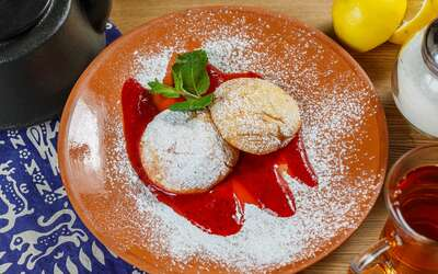 Меню кафе Хинкали & Хачапури на Льва Толстого фото 32