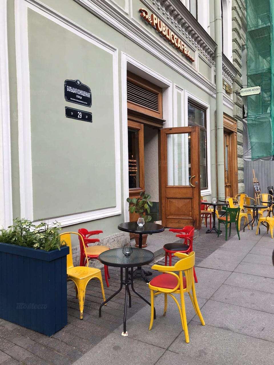 Кафе Public на Большой Конюшенной фото 7