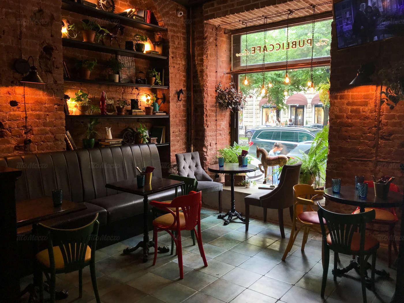 Кафе Public на Большой Конюшенной