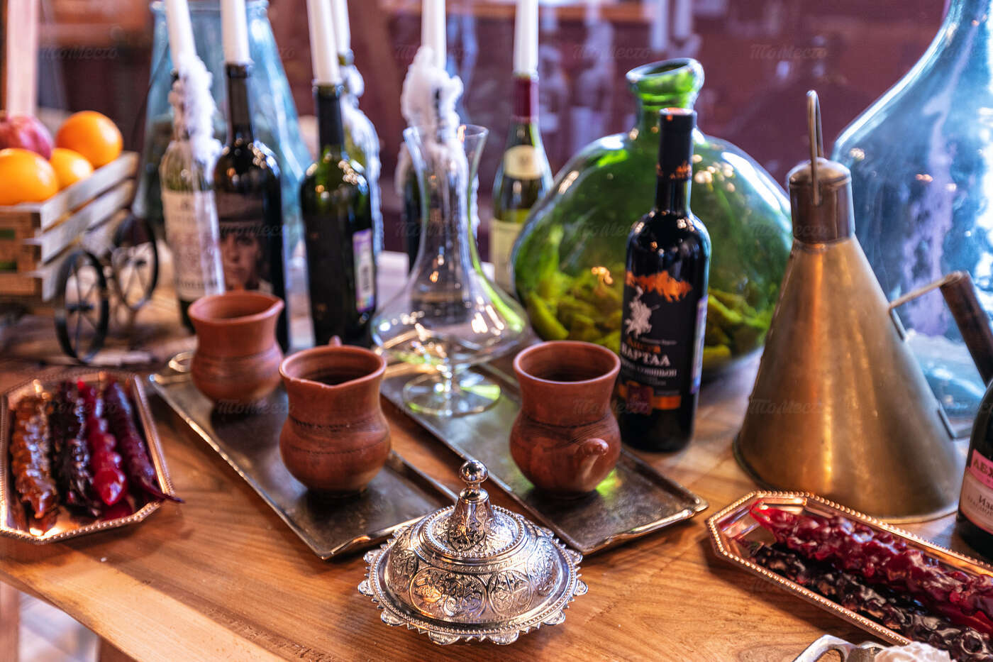 Ресторан Есть хинкали, пить вино на Поварской фото 14