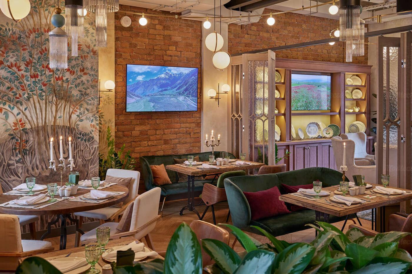 Ресторан Qartuli (Картули) на Грузинском Валу фото 18