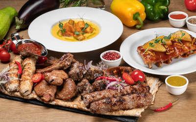 Меню ресторана Ашхабад на проспекте Мира фото 1