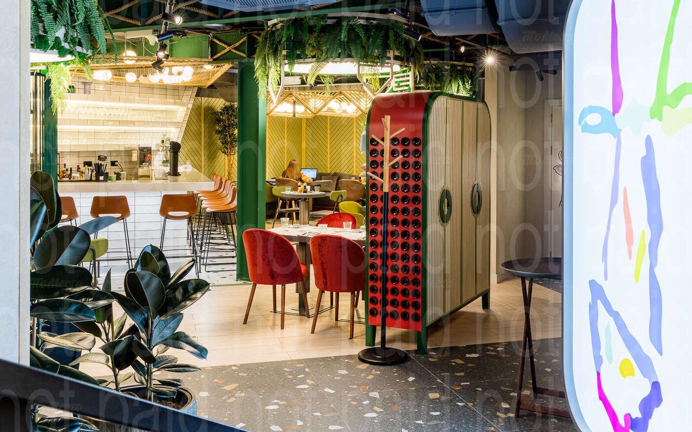 Ресторан M2 Organic Club (М2 Органик клуб) на Спиридоновке фото 3