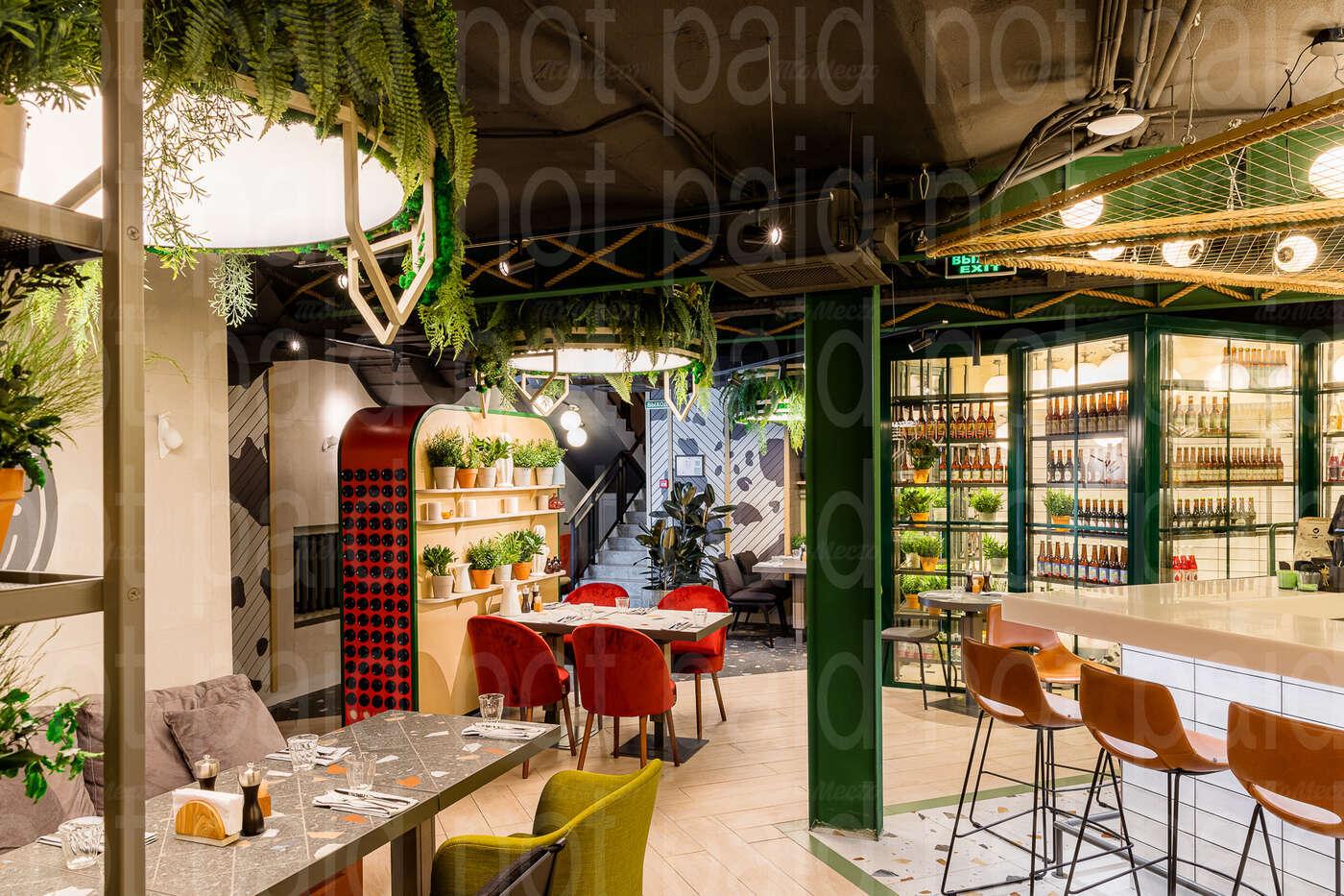 Ресторан M2 Organic Club (М2 Органик клуб) на Спиридоновке