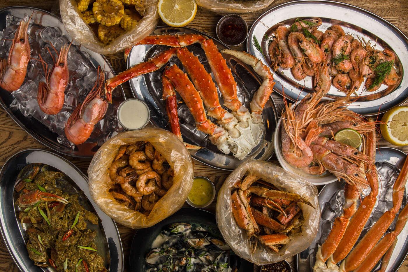 Меню ресторана Раки-Раки на улице 40 лет Победы фото 12