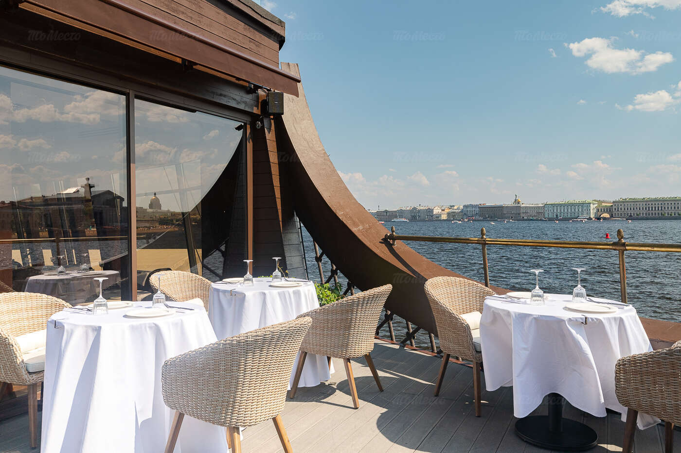 Ресторан 1703 на Мытнинской набережной фото 18