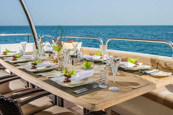 Рестораны на корабле