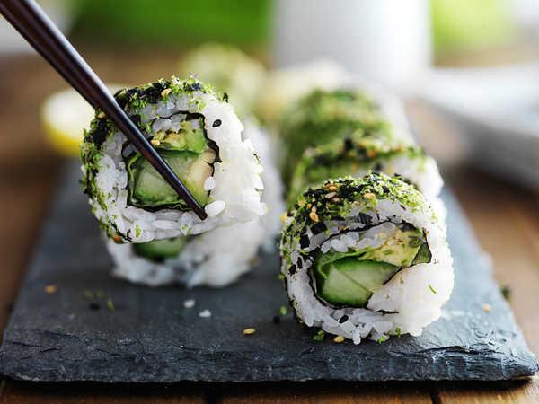 Где поесть суши и роллы