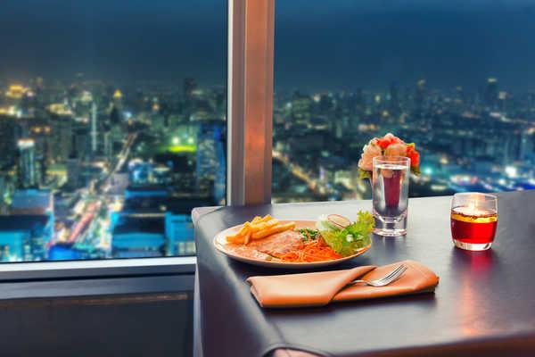 Ресторан с хорошим видом